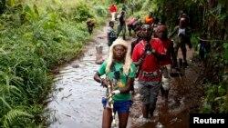Para anggota milisi Kristen anti Balaka di Republik Afrika Tengah (foto: dok).