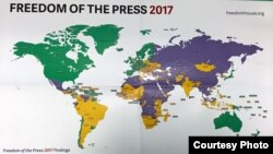 Freedom of press 2017 report.
