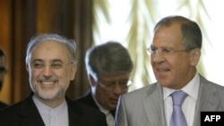 Али Акбар Салехи и Сергей Лавров. Москва. 17 августа 2011 года