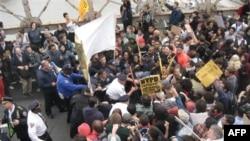 Protesti u njujorškoj finansijskoj četvrti