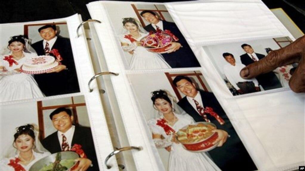 Một phụ nữ Việt kết hôn với người Đài Loan.