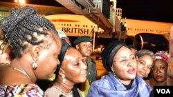 Aisha Buhari's Arrival 3