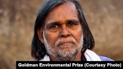 Prafulla Samantara, one of the current recipients of the Goldman Environmental Prize.