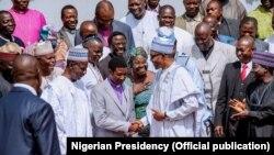 Buhari ya karbi bakuncin shugabannin kungiyar kiristoci ta Najeriya na jihohin Arewa da Abuja