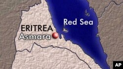 map eritrea and red sea
