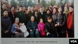 毛泽东后人回韶山合影留念 (2016年12月中旬,美国之音艾伦拍摄)