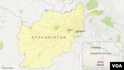 Distrik Achin di provinsi Nangarhar, Afghanistan.