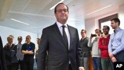 法國總統奧朗德星期一94月4日宣佈﹐要對曝光的巴拿馬逃稅事件進行調查