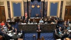 VOA: Juicio político a Trump podría terminar hoy viernes