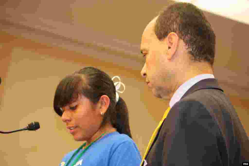 Una delegación de niños visitó el Congreso para exigir a los legisladores, una pronta aprobación de una reforma migratoria.