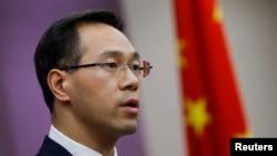 中國商務部發言人高峰。