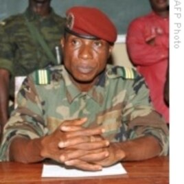 Guinea's Recovering leader, Captain Moussa Dadis Camara