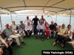 Mehmet Kasım Gülpınar AB büyükelçileriyle