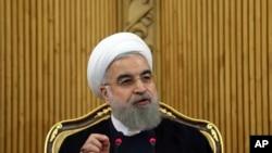 Iranski predsednik Hasan Rohani (arhivski snimak)