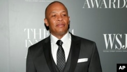 Dr. Dre attends the WSJ. Magazine 2014 Innovator Awards at MoMA on Nov. 5, 2014, in New York.
