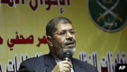 Mohamed Mosri, a member of the Executive Bureau of the Muslim Brotherhood and spokesman for the movement (file photo)
