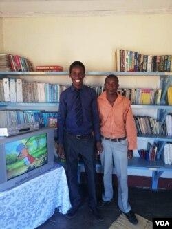 Basendaweni entsha yokugcina ingwalo esikolo seNtulula Primary School eTsholotsho.