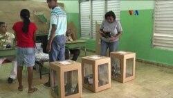 Dominicanos esperan resultados electorales