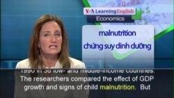 Anh ngữ đặc biệt: Child Nutrition Health (VOA-Econ)