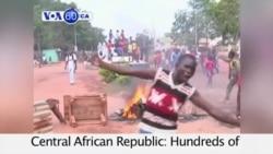 VOA60 Africa - Concerns Grow Over Latest CAR Violence - September 29, 2015
