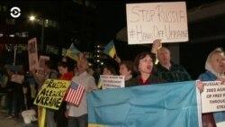 Украинцы Лос-Анджелеса против войны