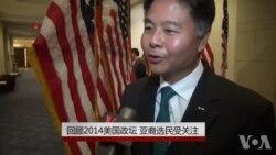 年终报道:回顾2014美国政坛 亚裔选民受关注