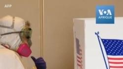 Masques à l'appui, les électeurs du Wisconsin ont voté dans la discipline
