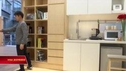 Căn hộ siêu nhỏ và nội thất thông minh ở Hồng Kông
