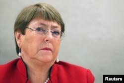 Michelle Bachelet, Kepala Hak Asasi Manusia PBB