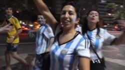 Fans Await Sunday's World Cup Final in Brazil