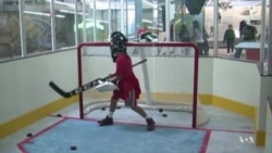 Ice Hockey Exhibition Provides Slick Lessons in Science
