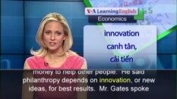Anh ngữ đặc biệt: Bill Gates Philanthropy (VOA-Ec Rep)