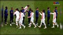 Fotoğraflarla Fransa-Hırvatistan Maçı