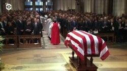 В Вашингтоне простились с Джорджем Бушем-старшим
