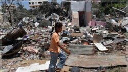 حمله هوایی اسراییل در غزه ١٠ کشته داشت