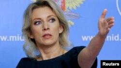 Portparolka ruskog Ministarstva inostranih poslova Marija Zaharova