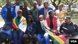 Occupy Africa Unity Square protesters vow to stay put despite