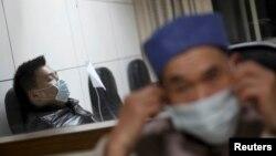 Pacijenti u bolnici u provinciji Žeijang