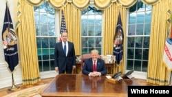 Дональд Трамп и Сергей Лавров, Овальный кабинет Белого дома, 10 декабря 2019