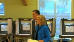 Romney Returns Home to Massachusetts to Vote