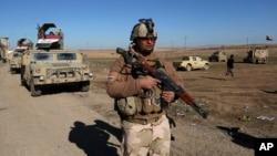 Pasukan Irak menguasai sepenuhnya wilayah Mosul timur, Selasa (24/1).