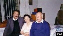 Ayrılıq mahnısının yaradıcıları: Fərhad İbrahimi, Fatma Qənnadi və Əli Səlimi