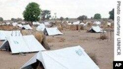Vue d'un camp du HCR dans l'est du Tchad