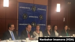 Amnesty International Uzbekistan Torture, US Capitol, April 17, 2015