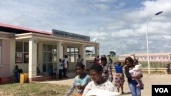 Centro de Tratamento da Covid-19 em Malanje, Angola