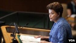 Rousseff también defendió el acuerdo de libre comercio entre el Mercosur y la Unión Europea, ya antes debatido.
