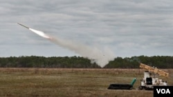"""""""სტინგერის"""" გასროლა ახალი გამშვები დანადგარიდან Multi-Mission Launcher (MML)"""