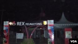 Meski aliran listrik normal di Banda Aceh, namun hampir sebagian besar pusat jajanan tutup pascagempa.