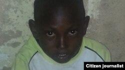 Sadiq, yaron da 'yanbindiga suka yanka mahaifinsa a gabansa a jihar Borno