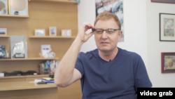 以色列研發視覺輔助設備幫助視障人士。(視頻截圖)